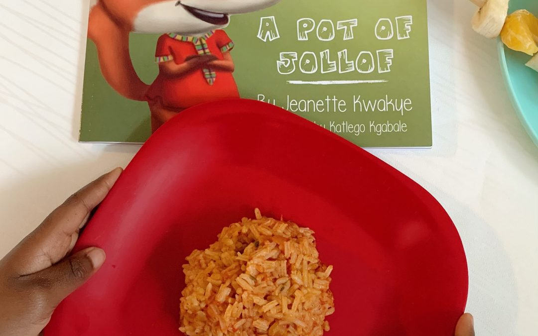 Jollof Rice = Food Joy